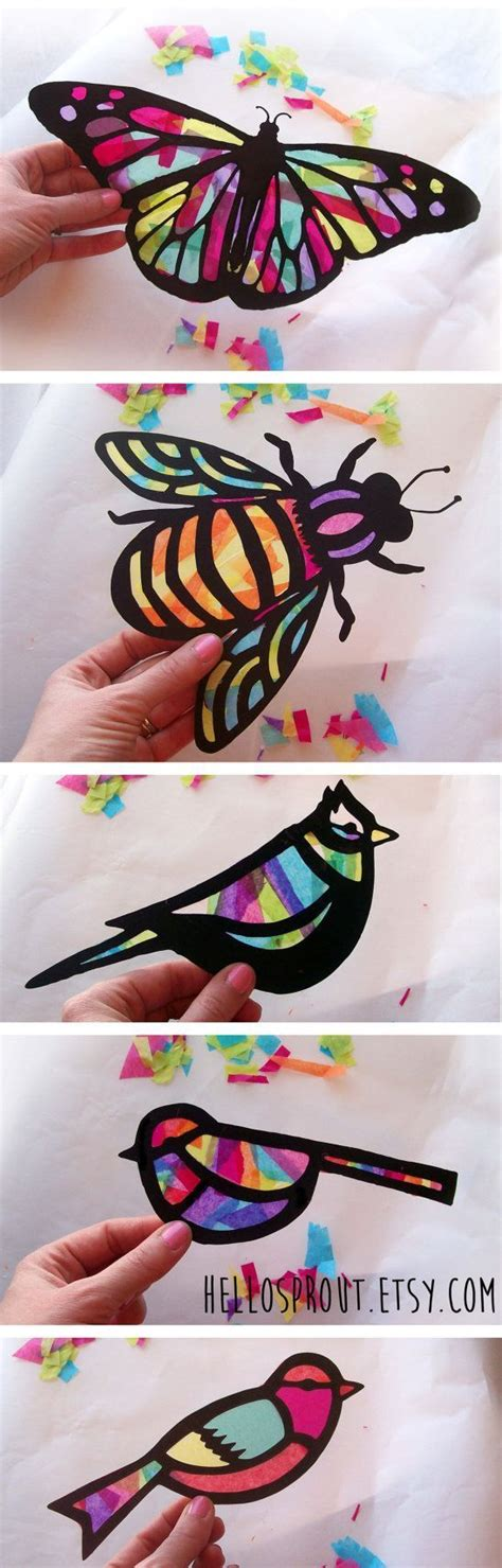 Arts And Crafts With Tissue Paper - 17 best ideas about tissue paper on tissue