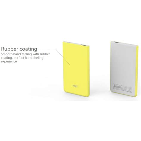 Hame X1 Power Bank 1 Port Usb 4000mah By Www Xsmlstore 1 hame x1 power bank 1 port usb 4000mah yellow