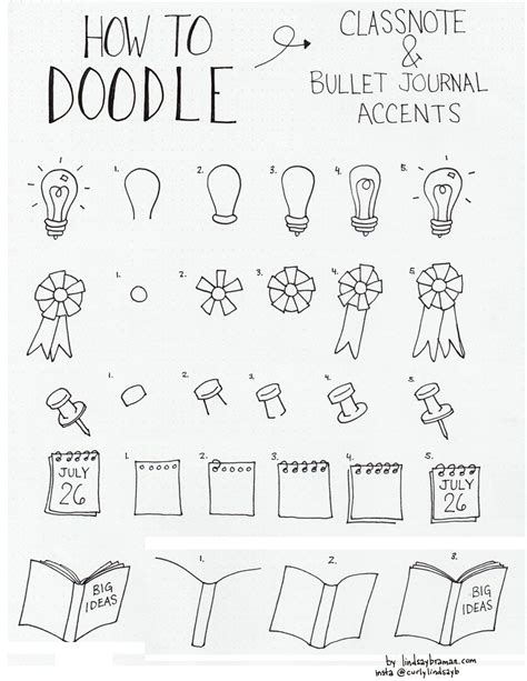 how to use doodle in a sentence doodle how to draw accents bujo mrkateinspo l bullet
