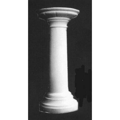 What Is A Pedestal Stylized Flower Pedestal Elements Of Home Indoor And