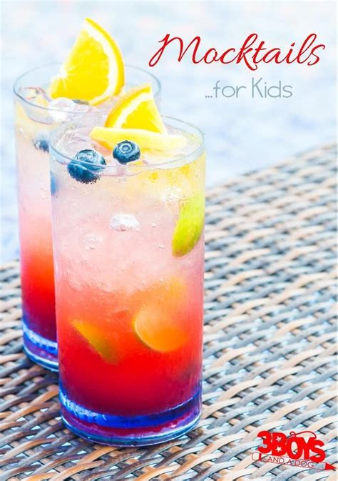 drinks kid 339 best cocktails mocktails images on