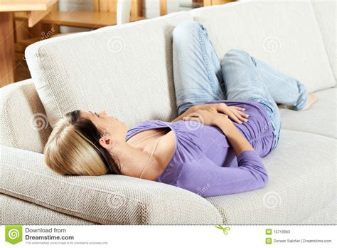 Sleeping In Living Room In Living Room Is Sleeping Stock Photos Image
