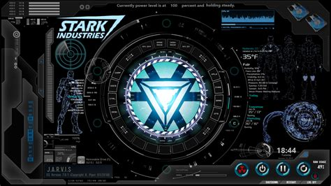 jarvis theme for windows 7 rainmeter make your computer like jarvis from the iron man movies