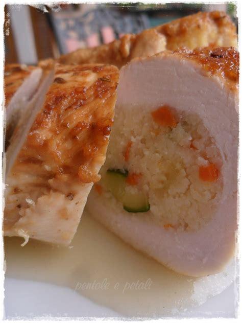come cucinare il petto di pollo dietetico pollo al lime ripieno di couscous verdure e pollo