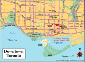 map of downtown toronto canada 2013 artimino ultrasound conference toronto information