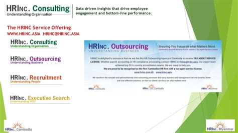 Mba Payroll Services Ii Inc by Hrinc Cambodia Compensation Surveys 2016 17