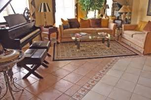 Tile Flooring Ideas For Living Room by Living Room Decorating Design Living Room Flooring Ideas