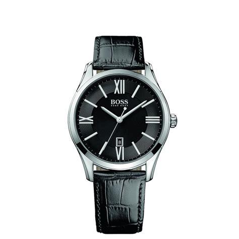 Hugo Bos Black hugo 1513022 black leather