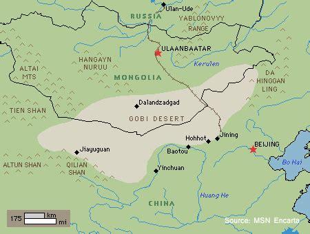 Gobi Desert World Map by World Visits Visit To Gobi Desert In China
