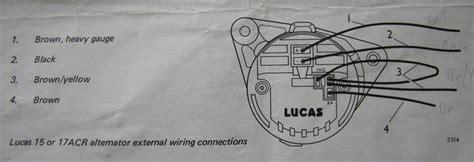 lucas 16 acr alternator wiring diagram 38 wiring diagram