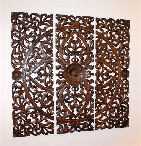 wood carved decorative wall plaque wood carved decorative wall