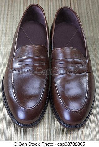 penny loafers for men clip art stock image of pair of stylish expensive modern calf