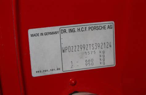 wisconsin engine serial number lookup porsche vin numbers wikipedia