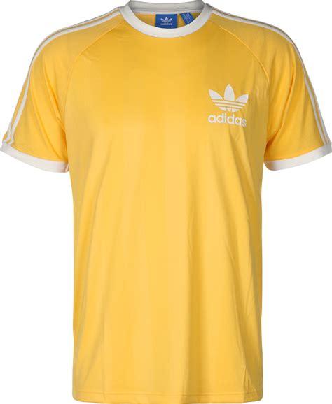 Tshirt Adidas Yellow adidas adicolor summer california t shirt yellow