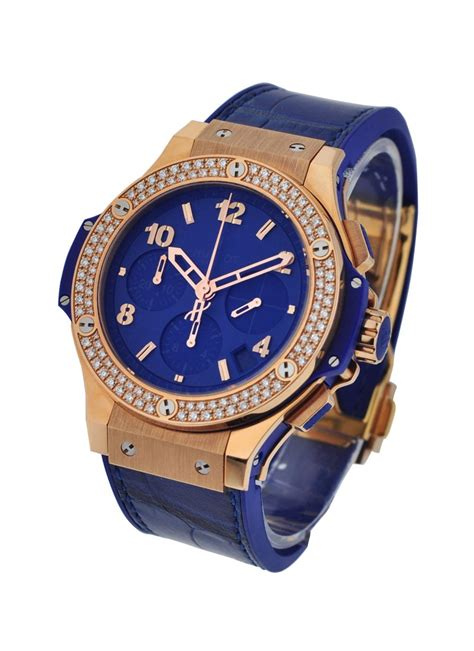 Hublot Big Blue Rosegold Rubber 1 341 pl 5190 lr 1104 hublot big 41mm tutti frutti gold essential watches