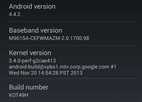 android kernel version android is based on linux but what does that