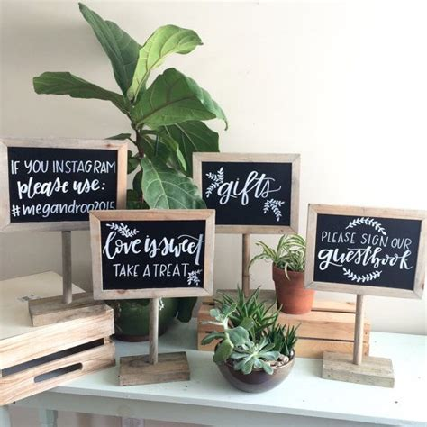 reserved signs for wedding tables best 25 wedding gift tables ideas on gift