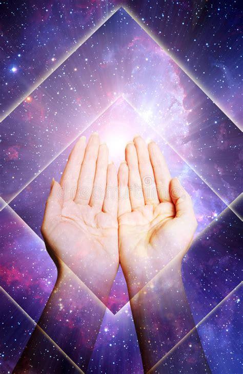 spiritual energy reiki stock images image