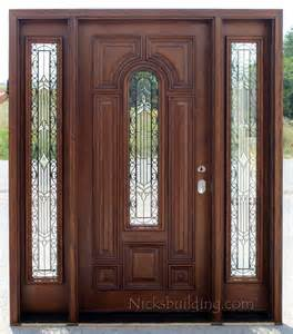 Front Entry Door With Sidelights Exterior Doors With Sidelights Solid Mahogany Entry Doors