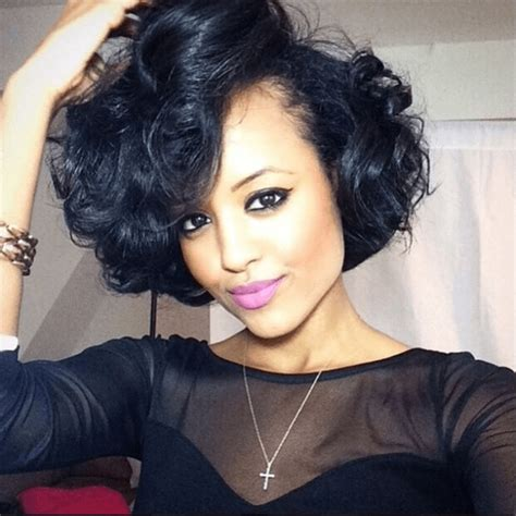 bob haircut hairstyle for black women hairstyle for women 15 photo of curly bob hairstyles for black women