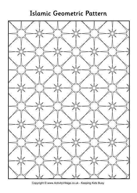 islamic pattern shapes 17 best images about islamic activities on pinterest