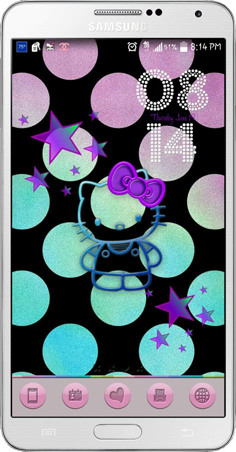 uccw hello kitty themes dazzle my droid hello kitty wallpapers freebies