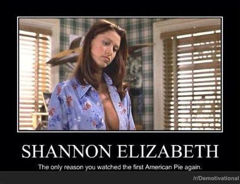 Elizabeth Meme - shannon elizabeth is american pie we heart it