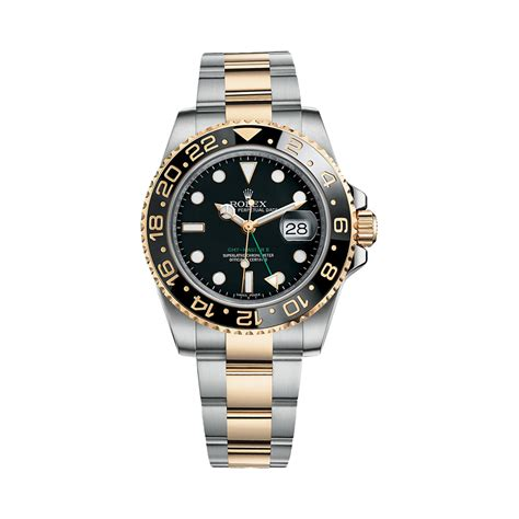 Rolex Gmt Master Ii Silver Lis Black rolex gmt master ii 116713ln gold stainless steel black world s best
