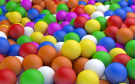 wallpapers colorful balls  balls creative