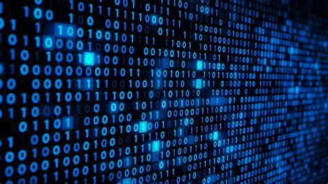 binary code binary code on a computer screen