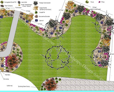 big backyard landscaping ideas big front yard in a cul de sac this is a really cool