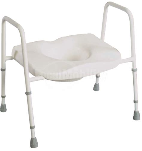 wide toilet seat uk wide toilet frame with seat local mobility