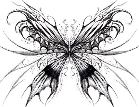 tattoo dragon butterfly butterfly tattoos and designs page 178