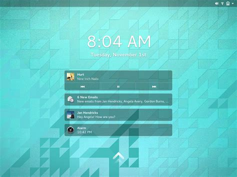 gnome lock screen themes gnome3 form and function