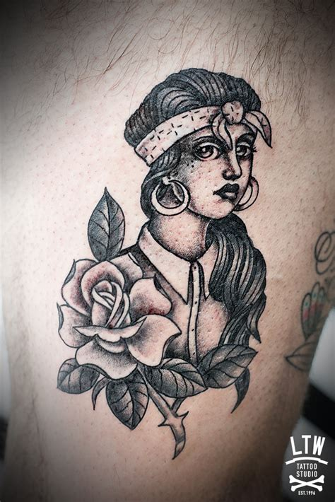 chola tattoos or cholas tattoos