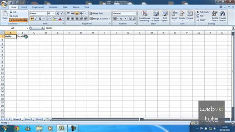 format painter excel microsoft excel format painter youtube