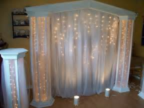 wedding backdrop lighting kit lighted columns with panel tulle j a columns backdrops and wedding
