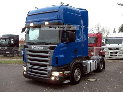 scania r 500 la v8 topline 4x2 meb 2008 volume trailer