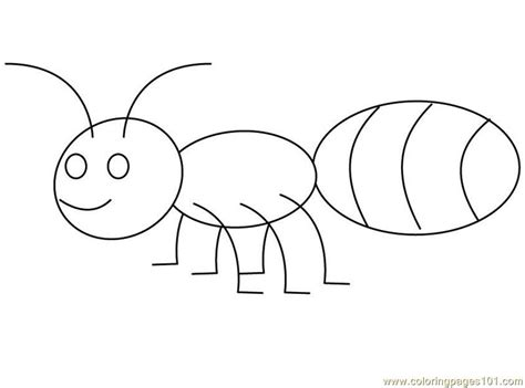 ant big back coloring page free printable coloring pages