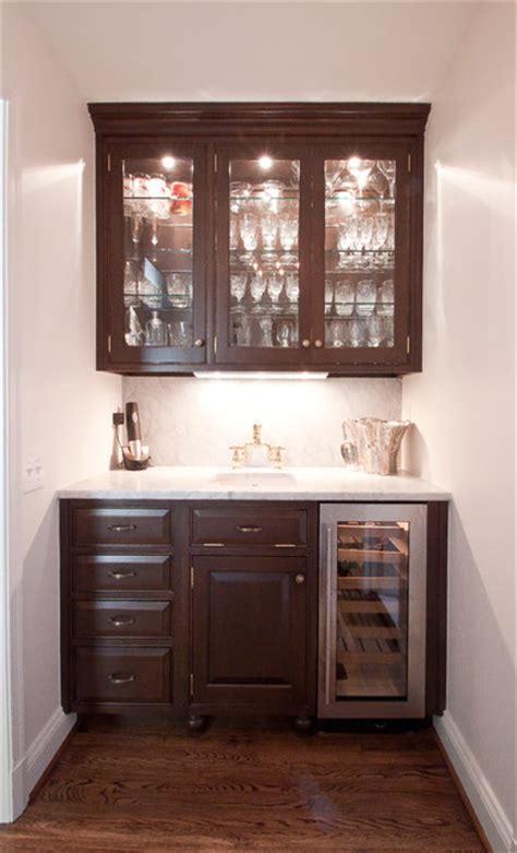 Beaded Kitchen Cabinets Hammond Wet Bar Traditional Family Room Dc Metro
