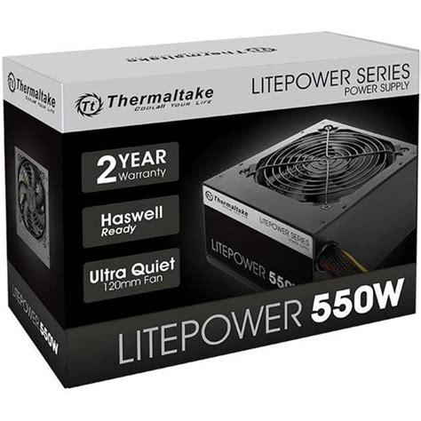 Thermaltake Litepower 550w thermaltake litepower series gen2 550w power supply ltp
