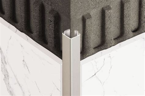 schluter 174 quadec edging outside wall corners for walls profiles schluter com