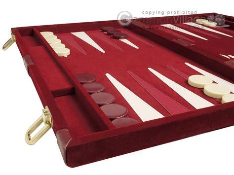 Dinaya Set Maroon 05 deluxe backgammon board set 15 quot velour maroon new ebay