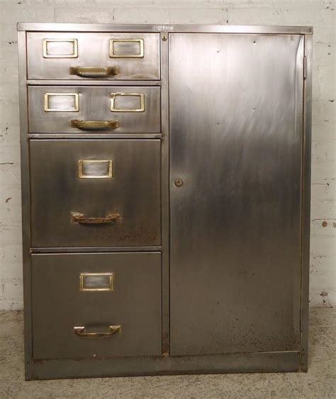 Industrial File Cabinet Industrial Metal File Cabinet For Sale At 1stdibs