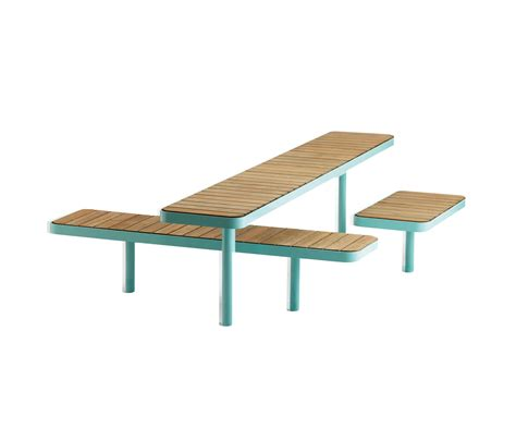 Forum Bench Table Benches With Tables From Vestre