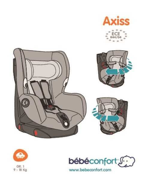 mode d emploi bebe confort axiss si 232 ge auto trouver une