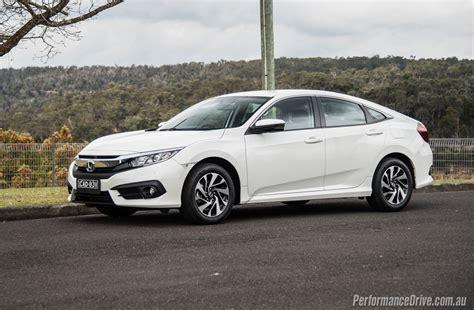 Civic Sedan Review by 2016 Honda Civic Vti S Sedan Review Performancedrive