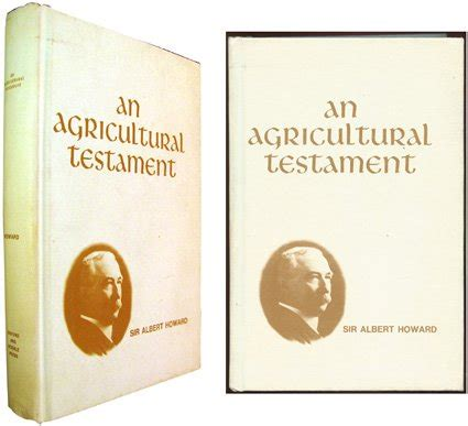 an agricultural testament books armskirk mei 2012