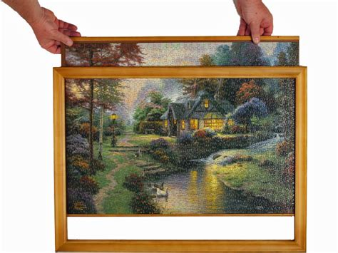 cornici puzzle ravensburger jigsaw puzzle frames in many sizes made from wood
