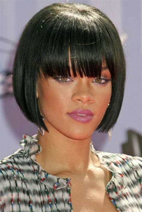 Front Bangs Hairstyles by 35 Awesome Bob Haircuts With Bangs Makes You Truly